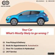 Multibrand Car and Bike repair serivces anywhere in hyderabad-Autoshed