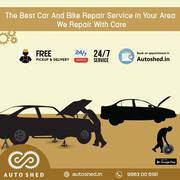 Four Wheeler Repair Service Center in Hitech City,  Madhapur,  Hyderabad