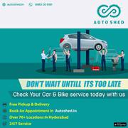 Four wheeler service center in Hitech city Hyderabad
