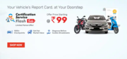 Droom May Automotive Services Offers with great discounts
