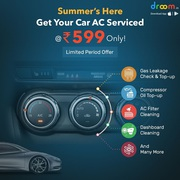 Droom Car AC Services just at Rs. 599 only